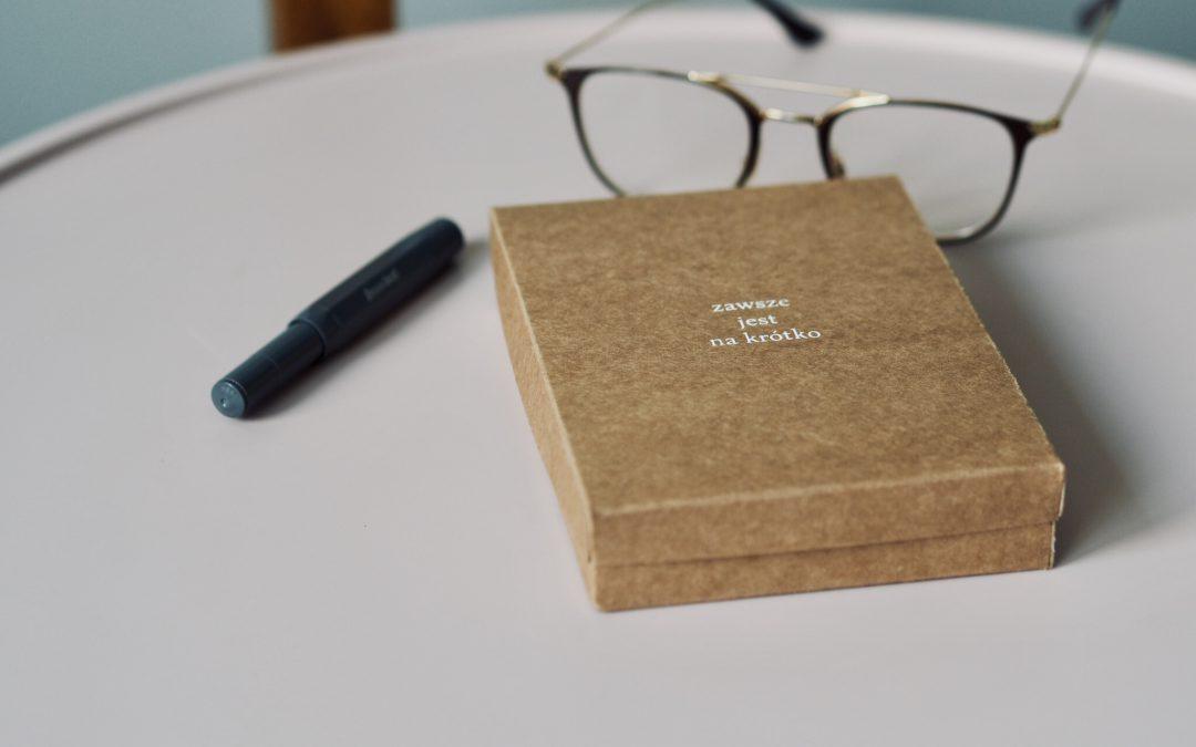 """Pudełko poezji, czyli """"Zawsze jest na krótko"""""""
